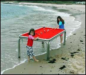 Unique pool tables